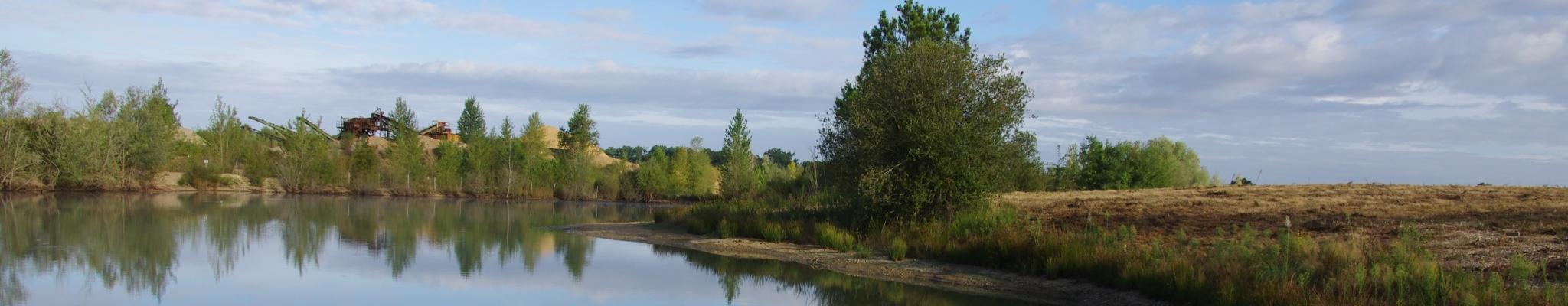 Plan d'eau réaménagé Moulin Neuf